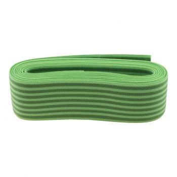 Elastiek 2-Kleurige Streep 40mm