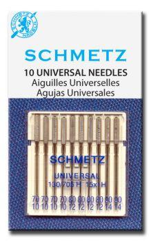 Schmetz Universeel verpakt per 10 stuks in een doos